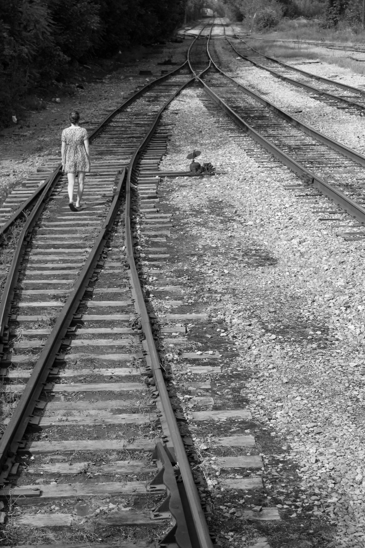 The Ghost Out On The Railroad Tracks