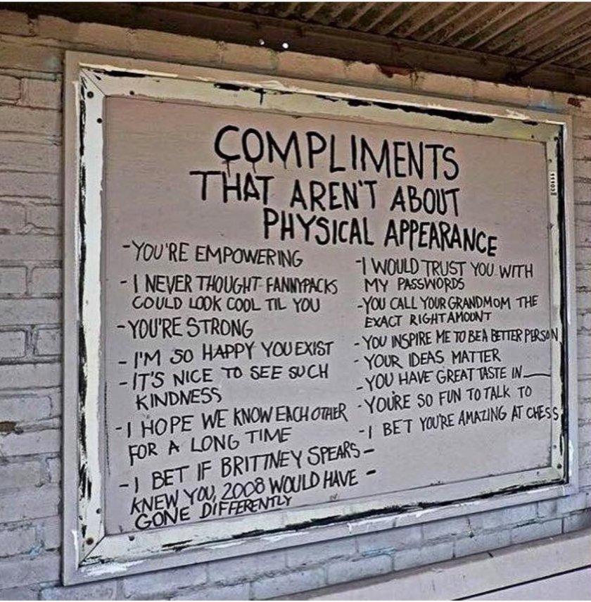 A Complimentary Addendum