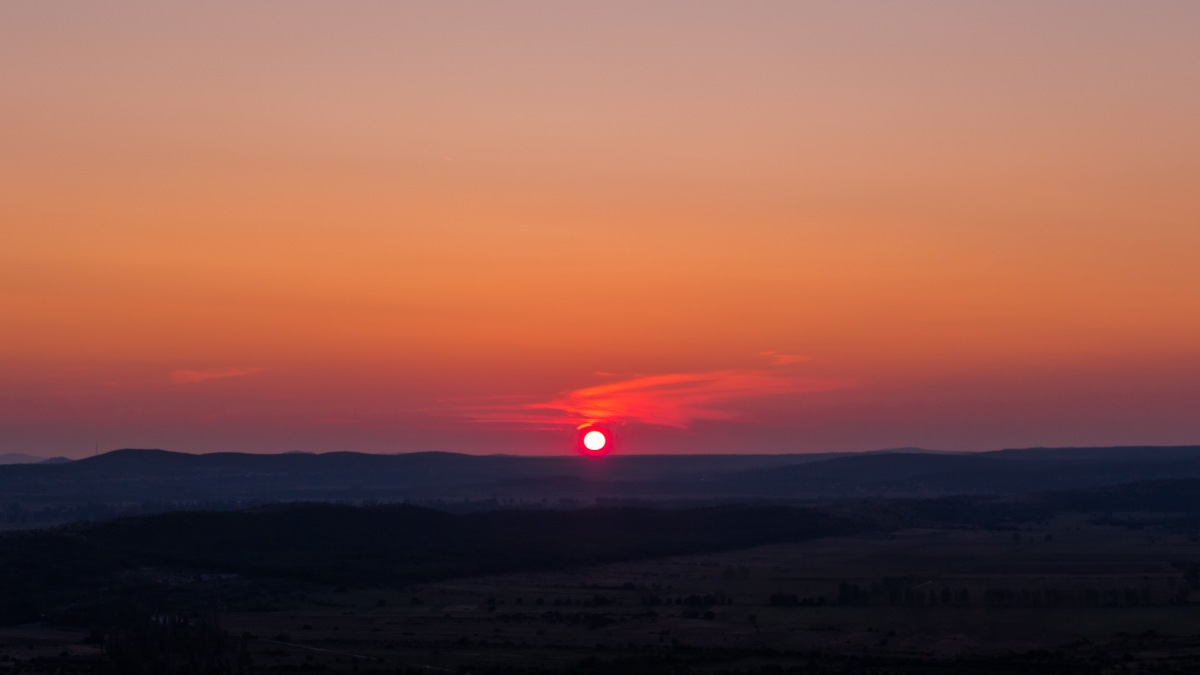 Sun Grew Red